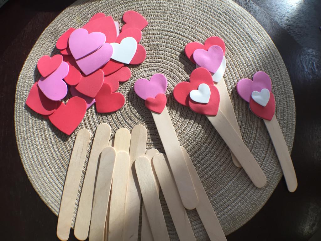 Easy Kindergarten valentines