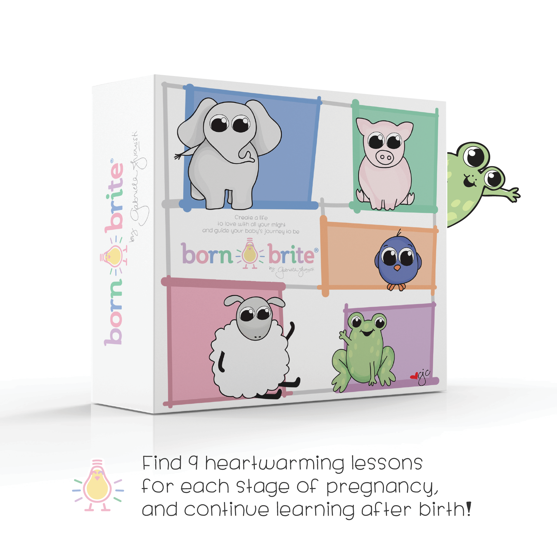 Born Brite books