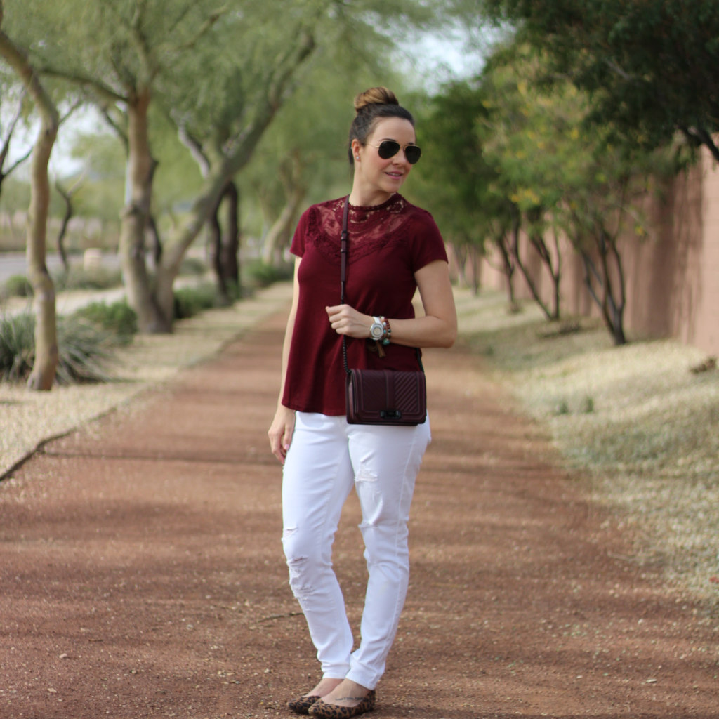 A simple outfit post-baby