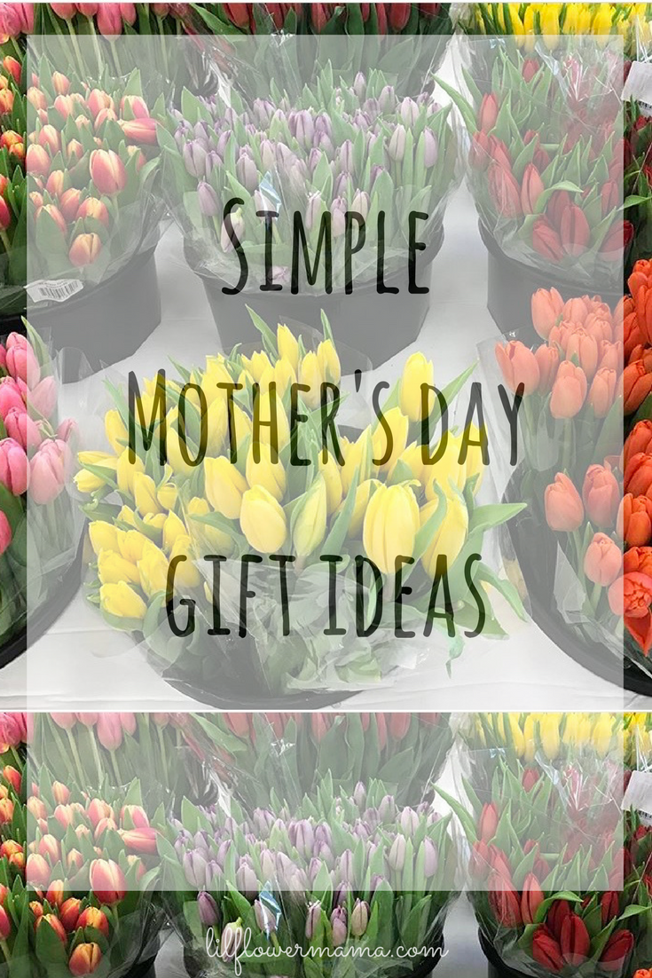 Simple Mother's day gift ideas for every mom - lilflowermama