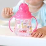 Holland is growing so fast-sippin in style with Nuby