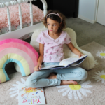 Clara's room remix with Oh Joy for Lorena Canals rugs