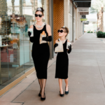 Breakfast at Tiffany's mommy + me photoshoot