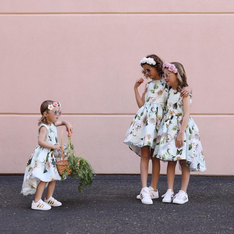 Girl's matching Easter dresses -2019 - lilflowermama