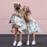 Girl's matching Easter dresses -2019